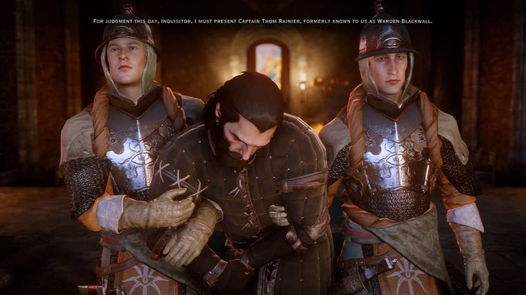 Dragon Age™ Inquisition Sit in Judgement: Companion Approval - Captain Thom Rainier (Revelations)