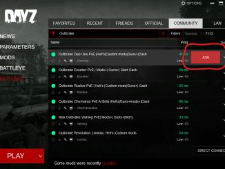 DayZ Guide on How to Find Modded Servers to Play in DayZ 1 - steamsplay.com