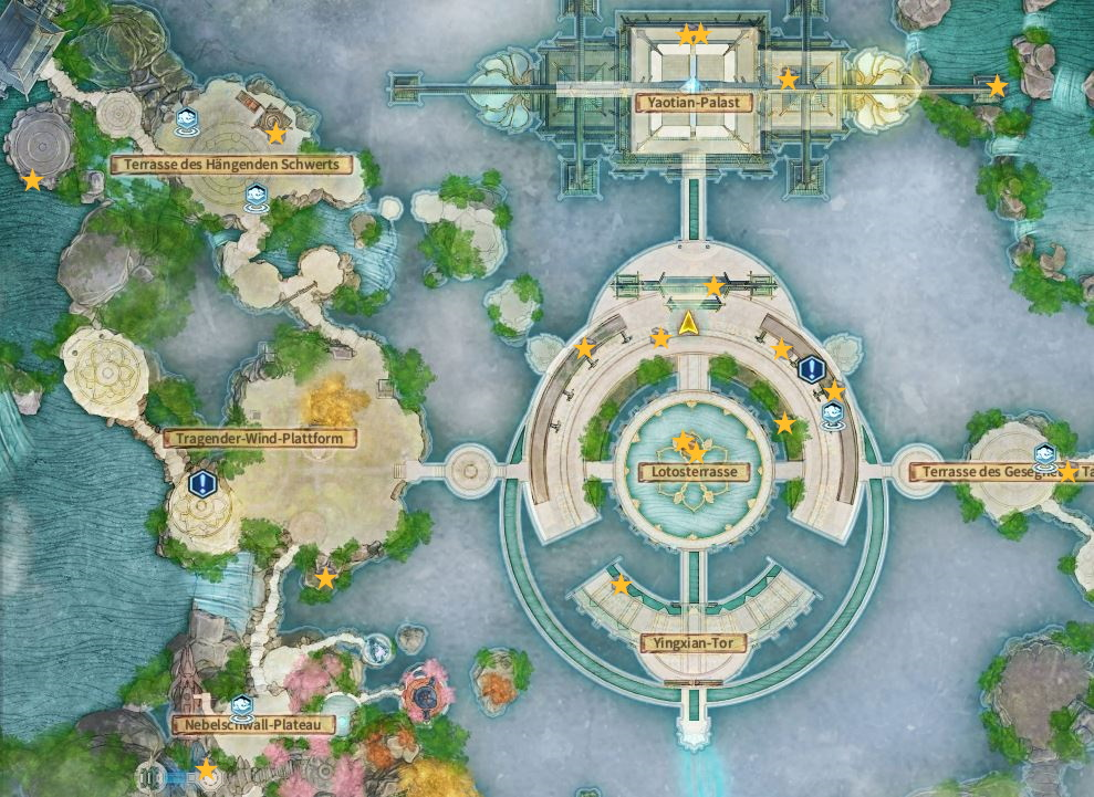Swords of Legends Online Treasure Map Guide - Cloudrise