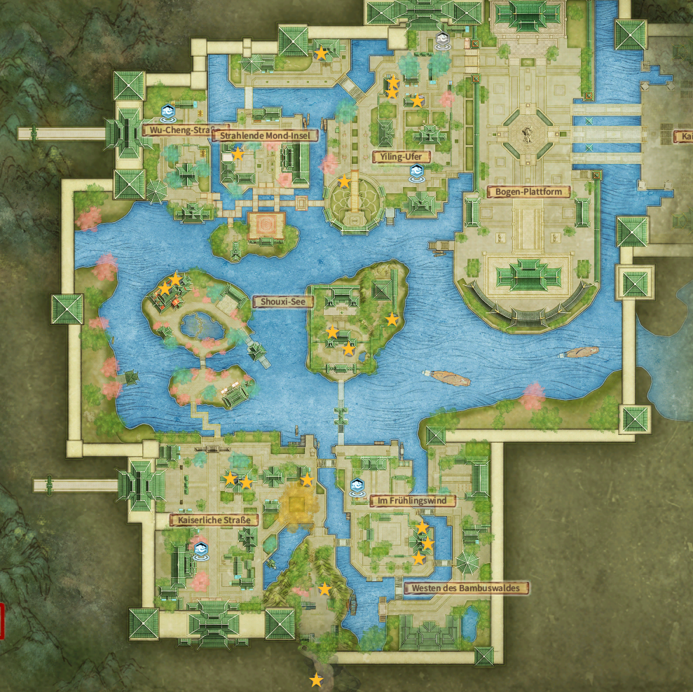 Swords of Legends Online Treasure Map Guide - District of Jiangdu