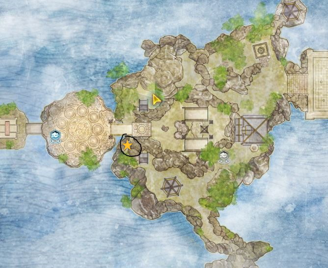 Swords of Legends Online Treasure Map Guide - Mountain of Wondrous Creation