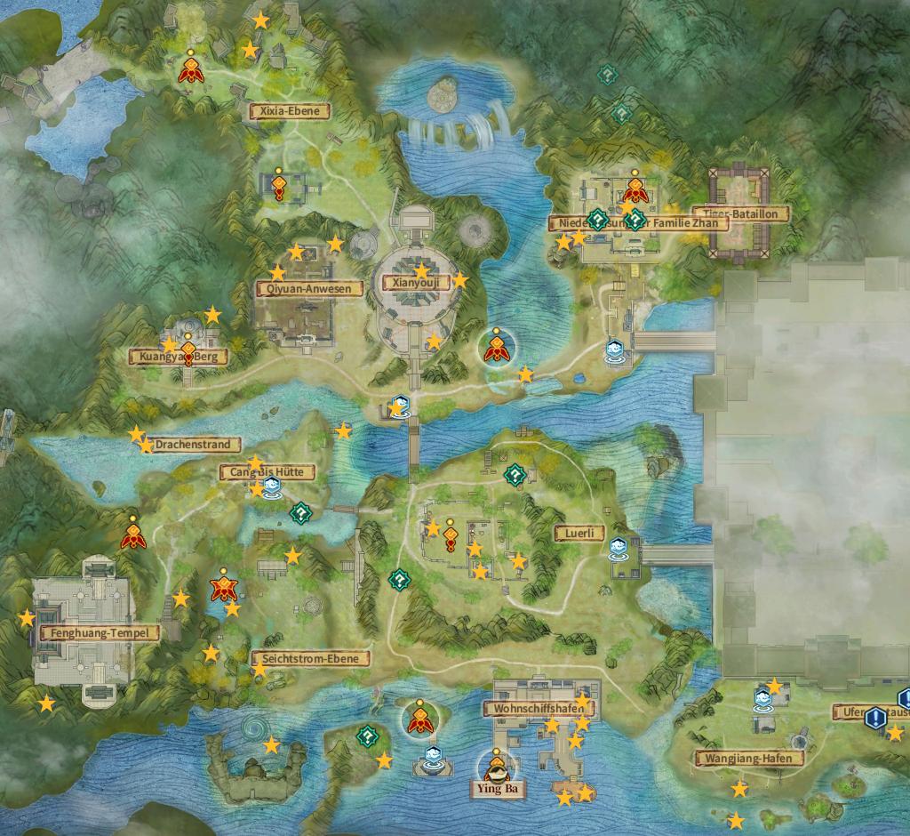 Swords of Legends Online Treasure Map Guide - Shanghuai Grassland