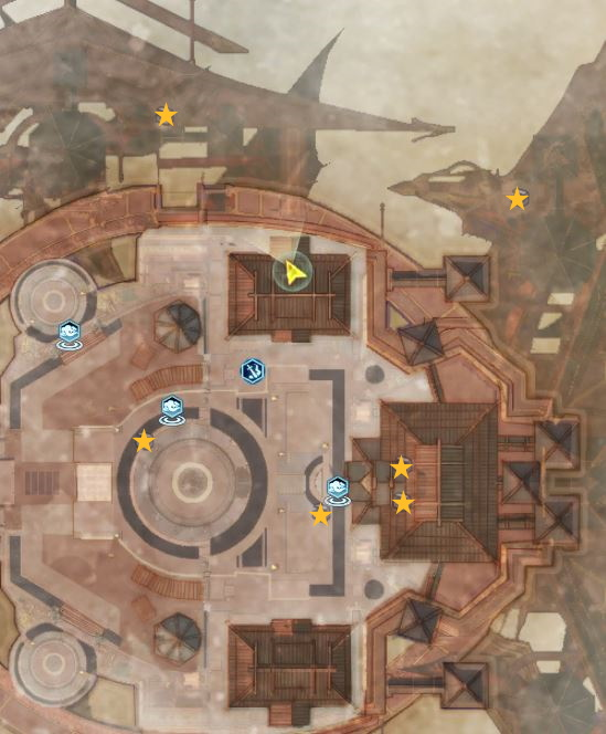Swords of Legends Online Treasure Map Guide - Star Tempest