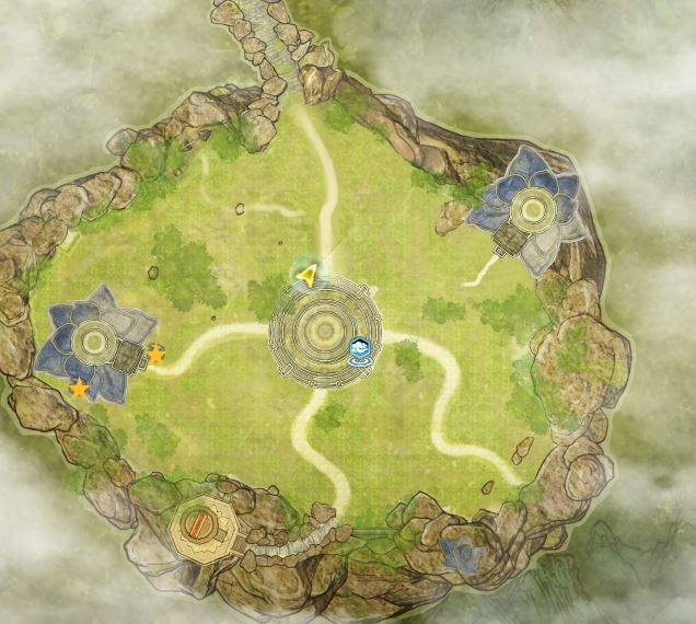 Swords of Legends Online Treasure Map Guide - Valley of the Sea of Fragrant Flowers