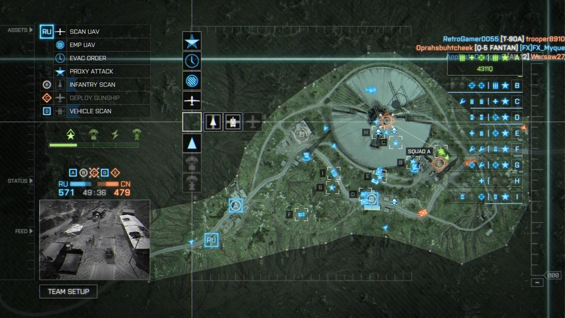 Руководство Battlefield 4 ™: лучшая стратегия и тактика для командира - Commanders View - 63098D1