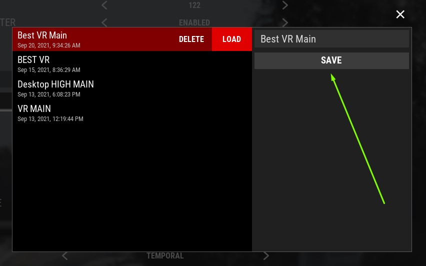 Assetto Corsa Competizione Guide for SteamVR Settings + Graphics + Config in Game - Nvidia Control Panel Settings (Same should apply to AMD's control panel) - 459289E