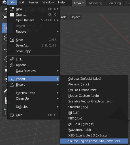 Garry's Mod How to Import MDL Files to PAC3 + All Programs Requirements - Blender - 424AD82