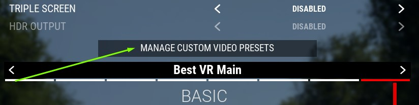 Assetto Corsa Competizione Guide for SteamVR Settings + Graphics + Config in Game - Nvidia Control Panel Settings (Same should apply to AMD's control panel) - 41DE595