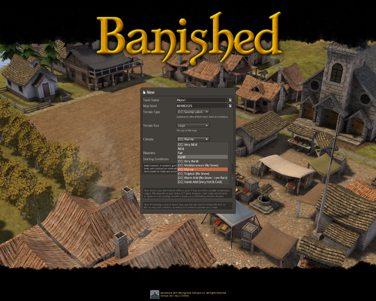 Banished General Guide for Banished:Colonial Chart 1.7 - Gameplay Tips - Before you start! - AB28CA0