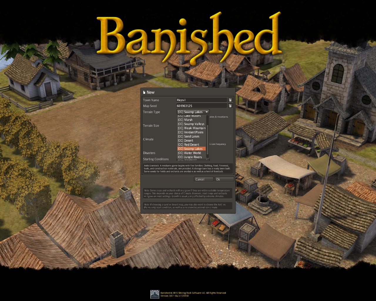 Banished General Guide for Banished:Colonial Chart 1.7 - Gameplay Tips - Before you start! - FA913D7