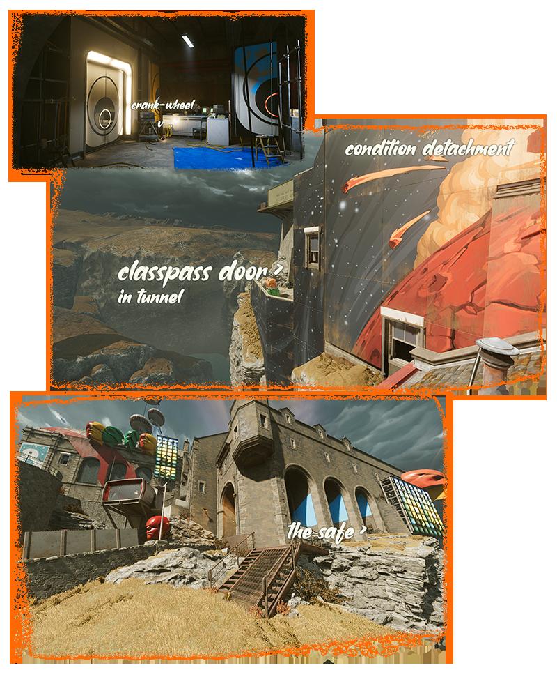 DEATHLOOP Complete Guide + Gameplay Tips + Loots-Secrets-Locations-Lock & Door Combinations Hints - 💢 Crank-Wheel Safes - 2A0B652