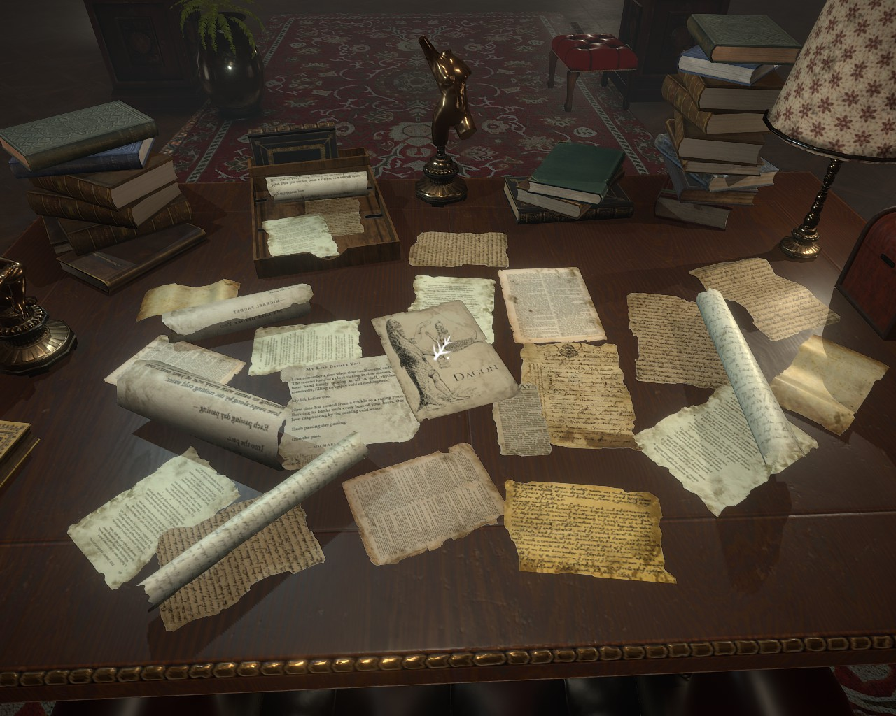 Dagon Achievements Guide ( The Eldritch Biographer ) - Location of secret branches - 222B113