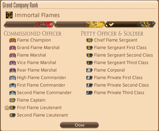 FINAL FANTASY XIV Online FINAL FANTASY XIV Online General Information How to Make Gil + Farming Mob Drops - Beginner level: Grand Company - 9E1C35C