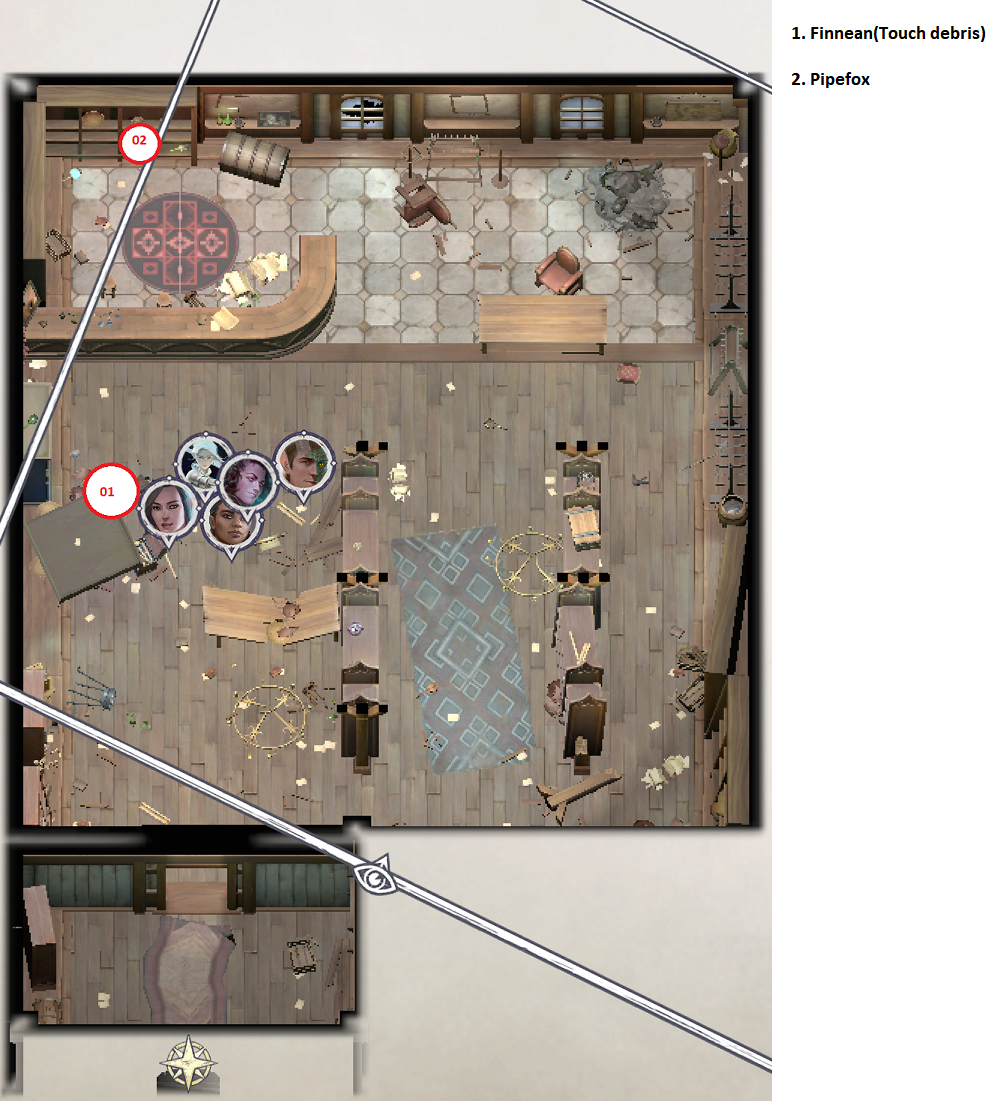 Pathfinder: Wrath of the Righteous All Items Location in Cave Map Guide - Item Locations - 67AD633