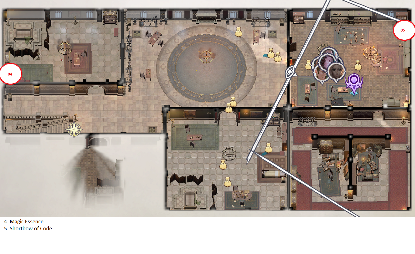 Pathfinder: Wrath of the Righteous All Items Location in Cave Map Guide - Item Locations - 7E019EB