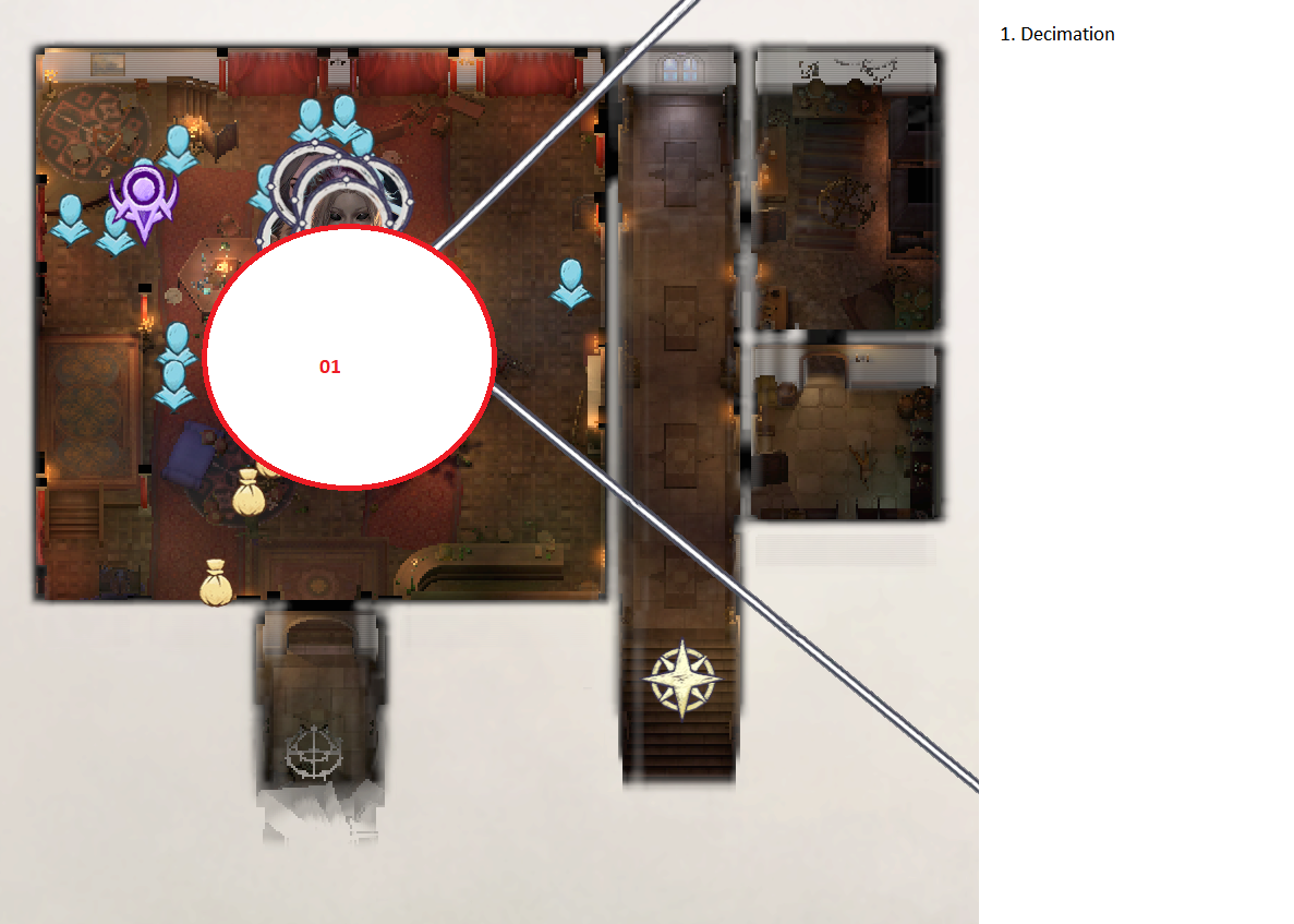 Pathfinder: Wrath of the Righteous All Items Location in Cave Map Guide - Item Locations - A4C20B0