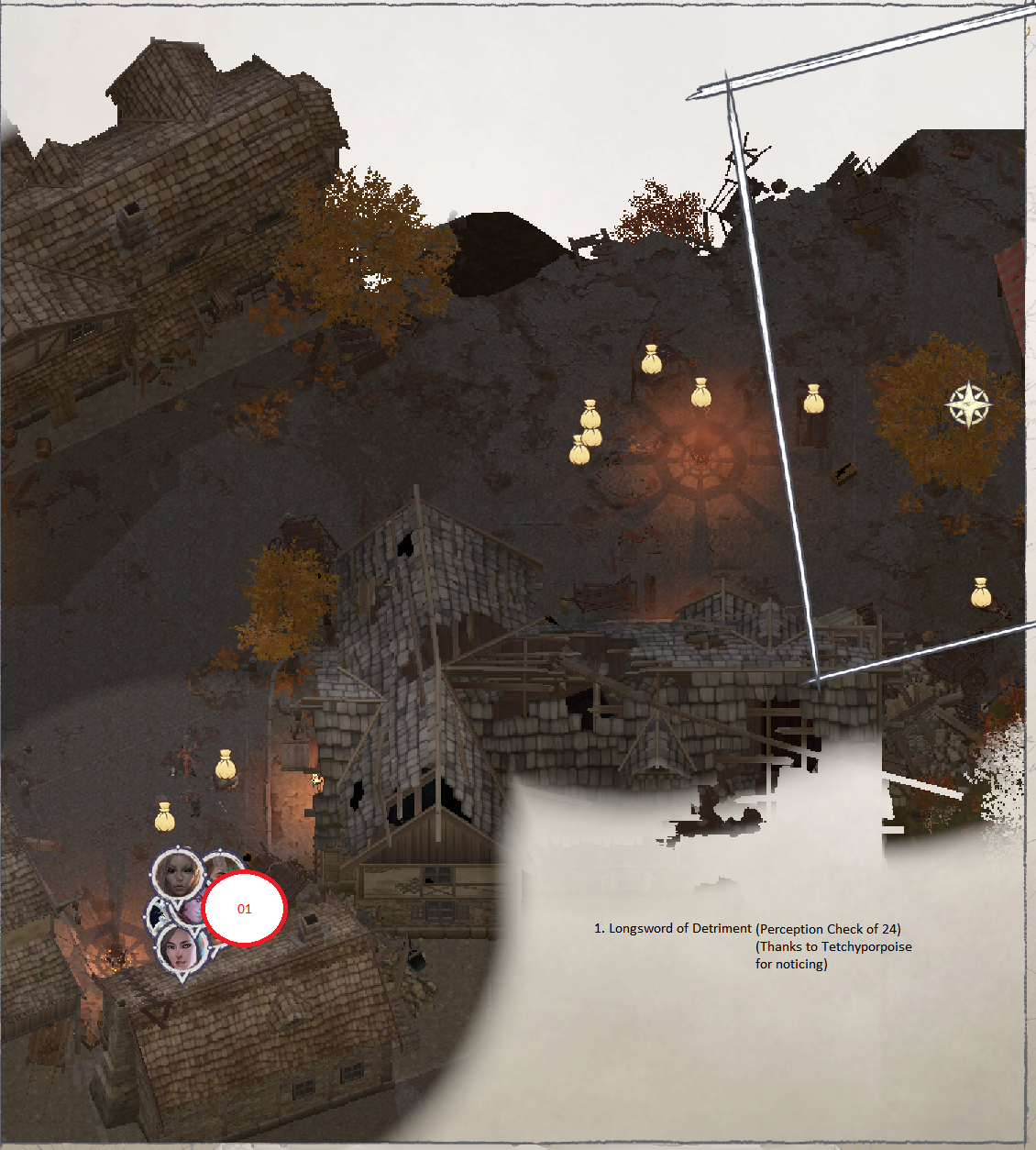 Pathfinder: Wrath of the Righteous All Items Location in Cave Map Guide - Item Locations - FC2811E