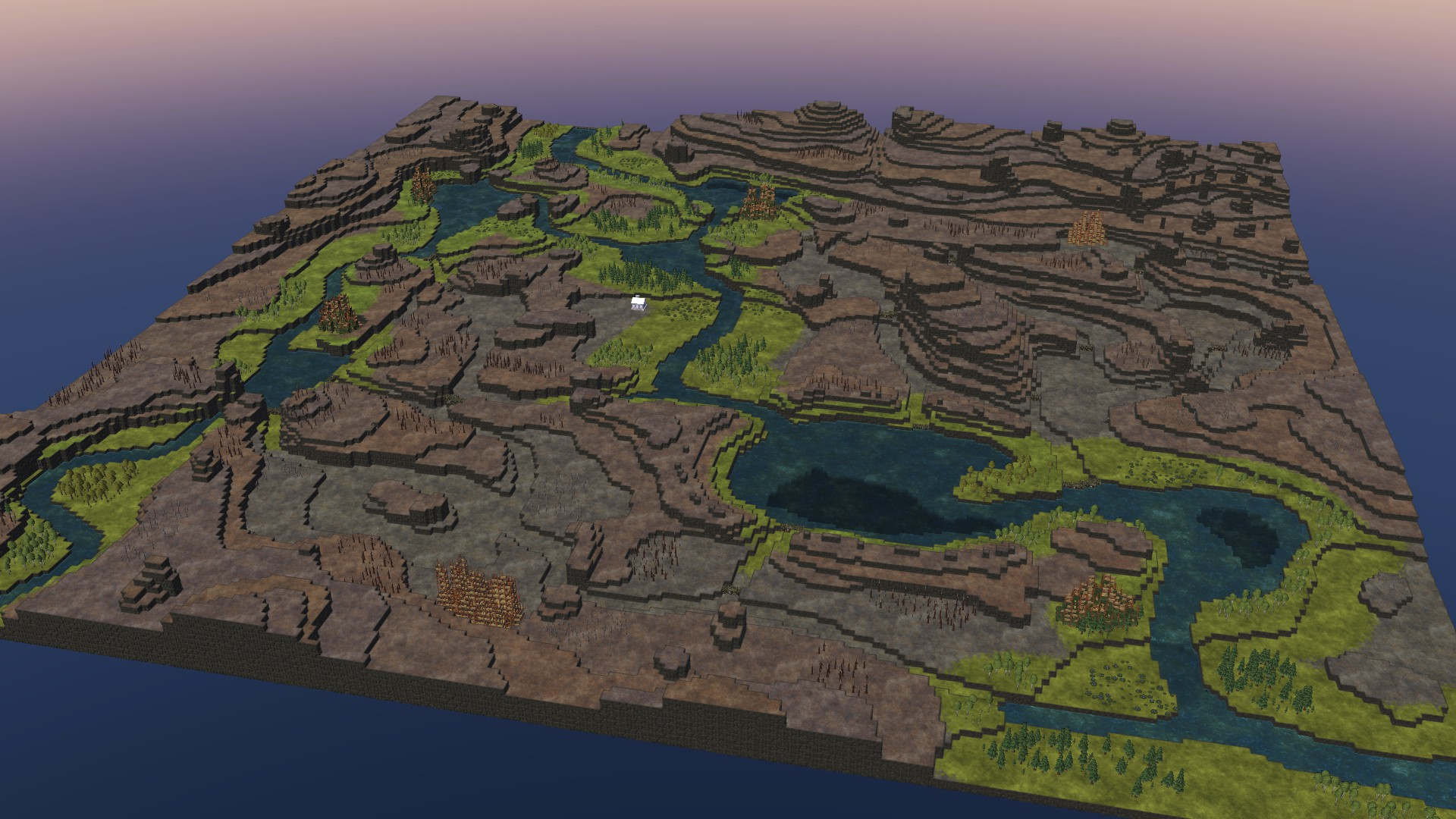 Timberborn All Maps in Game With Photo Guide - Lakes Map: - 80FA912