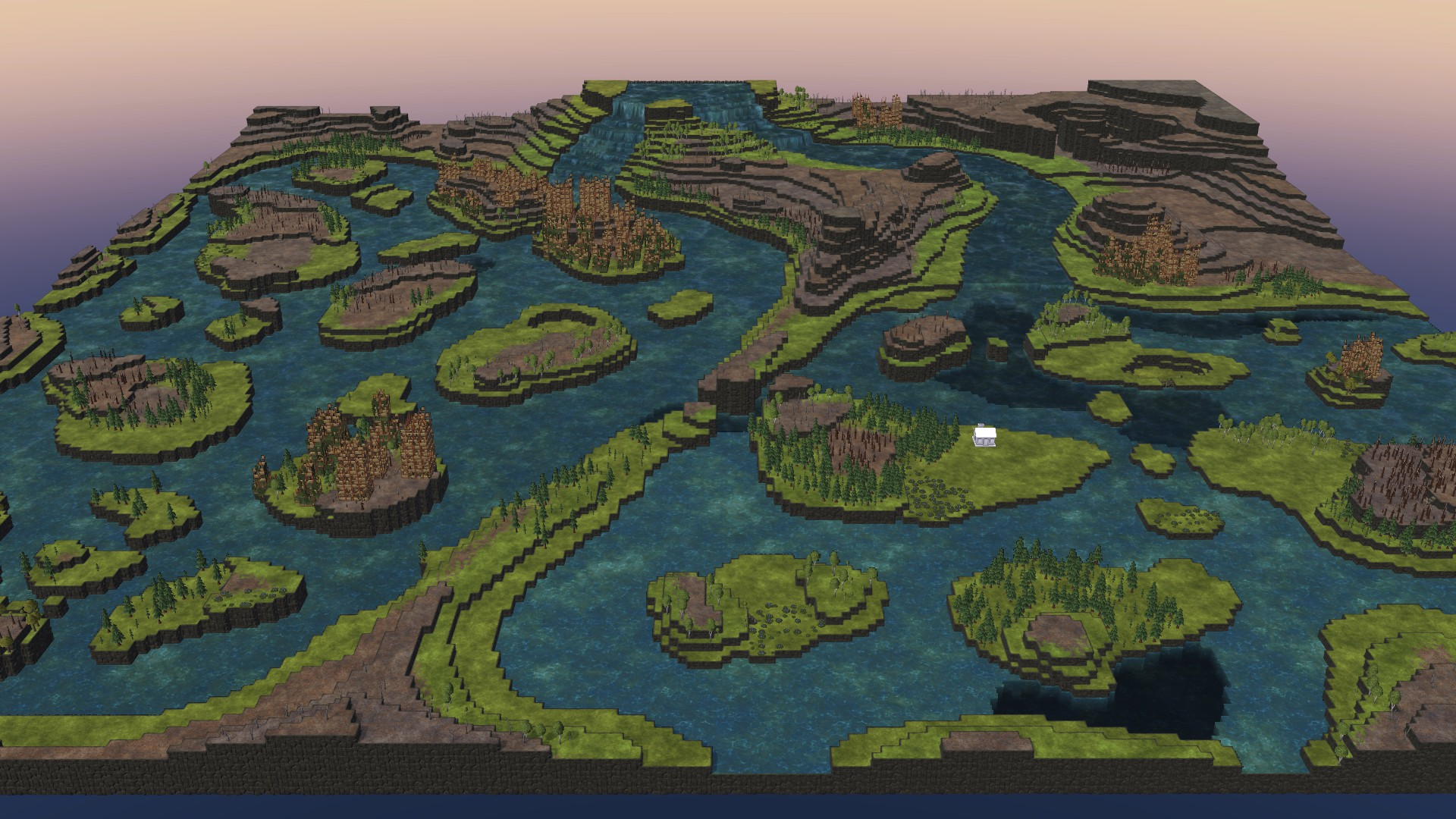 Timberborn All Maps in Game With Photo Guide - Thousand Islands Map: - 32F4671