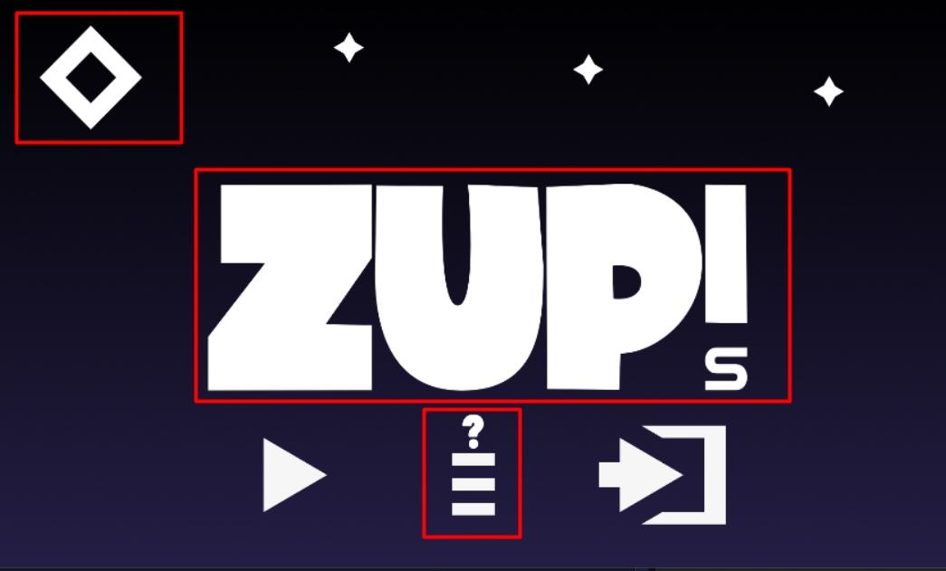 Zup! S Walkthrough All Achievements Complete - Cheat Guide - Start Screen - E8F157B