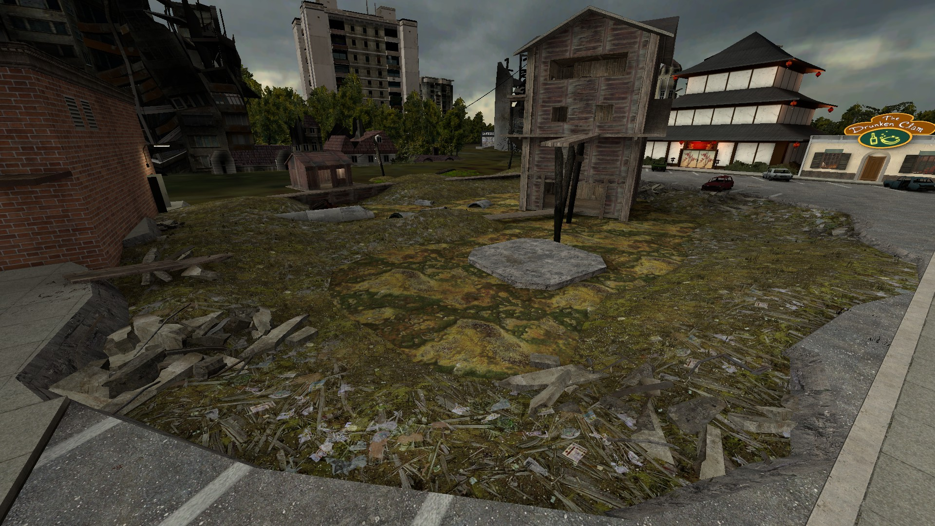 Garry's Mod Server Swamp Cinema + Map + Locations - Overview - Overview of Server: - E7AAB48