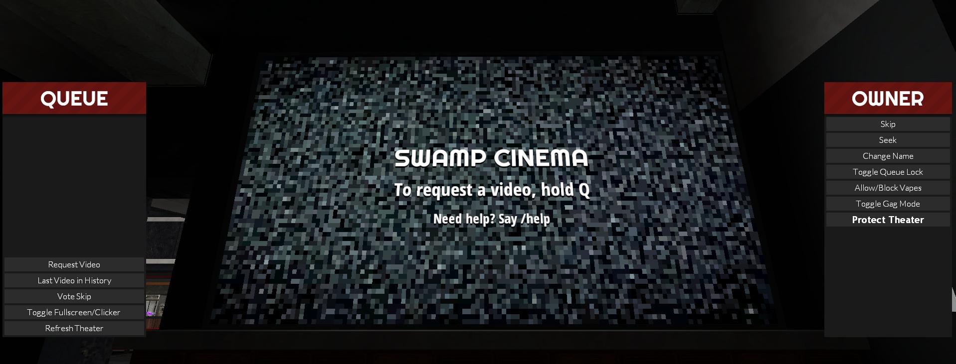 Garry's Mod Server Swamp Cinema + Map + Locations - Overview - Cinema: - 3ACF697