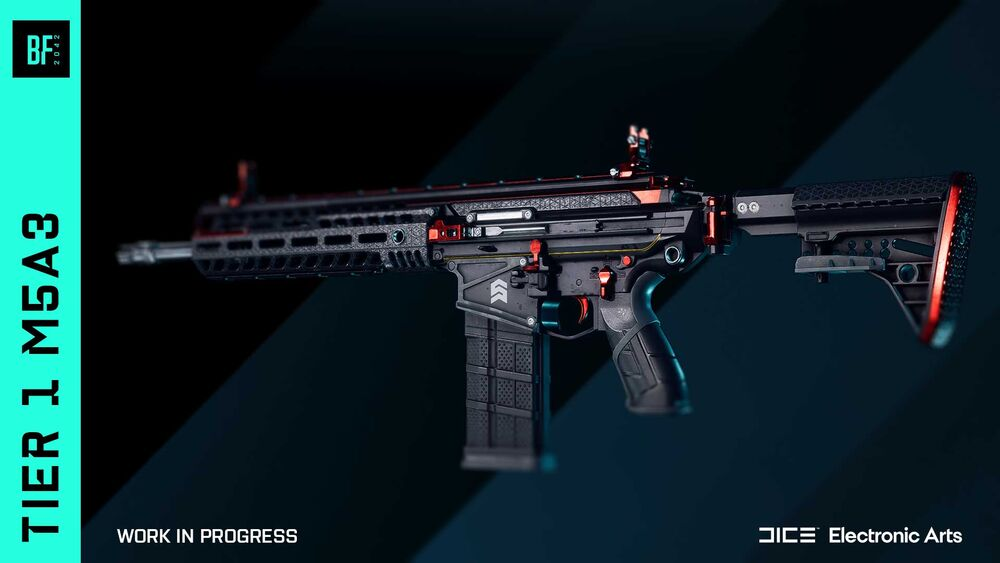Battlefield™ 2042 Open Beta All Weapons & Stats in Game - M5A3 - 26A79B9