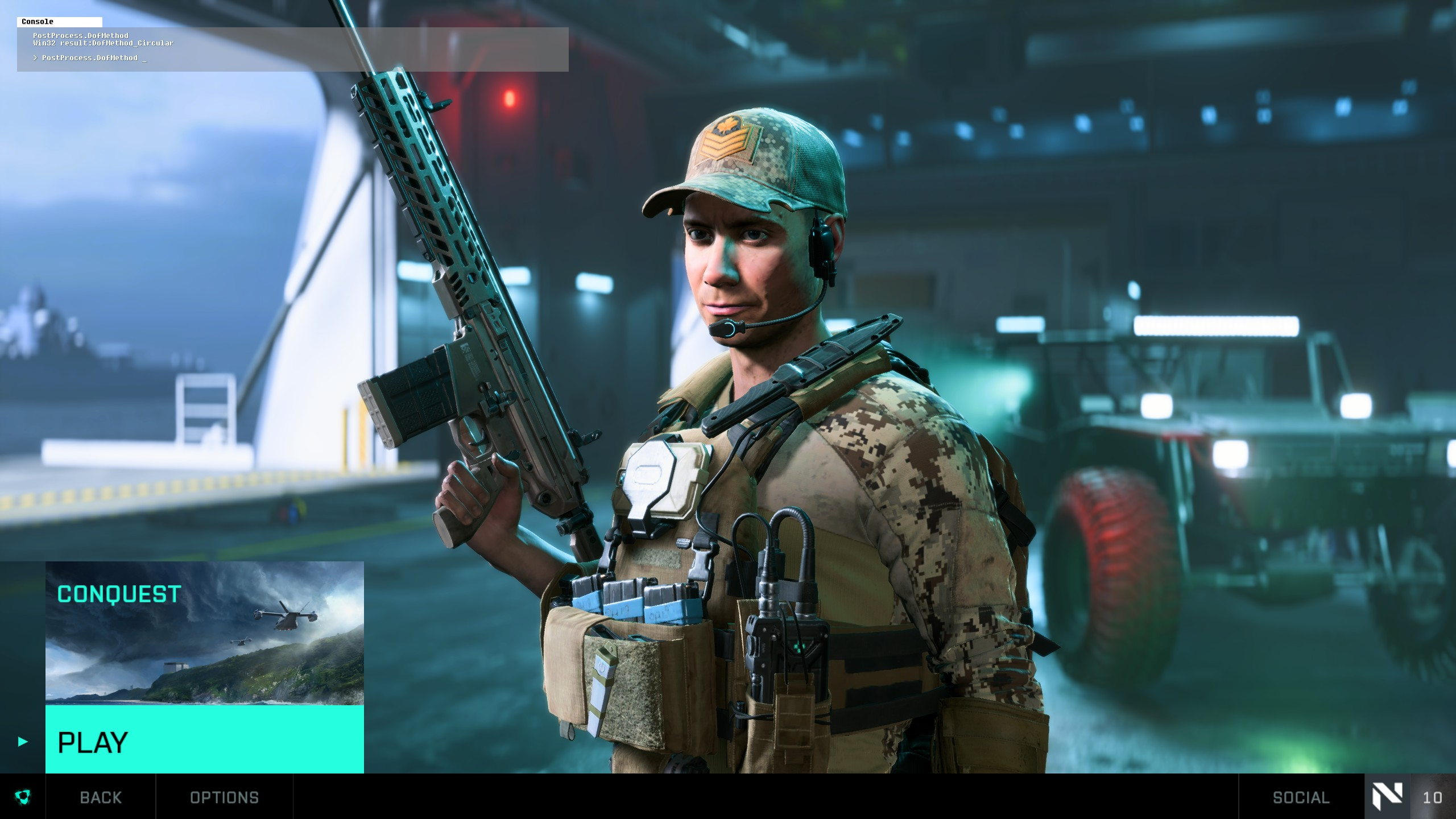 Battlefield™ 2042 Open Beta Best FPS Settings for Better Performance - In-game console - 738DC77