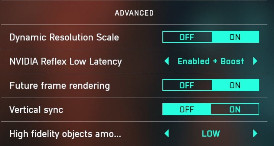 Battlefield™ 2042 Open Beta Best FPS Settings for Better Performance - In-game settings - 30BE835
