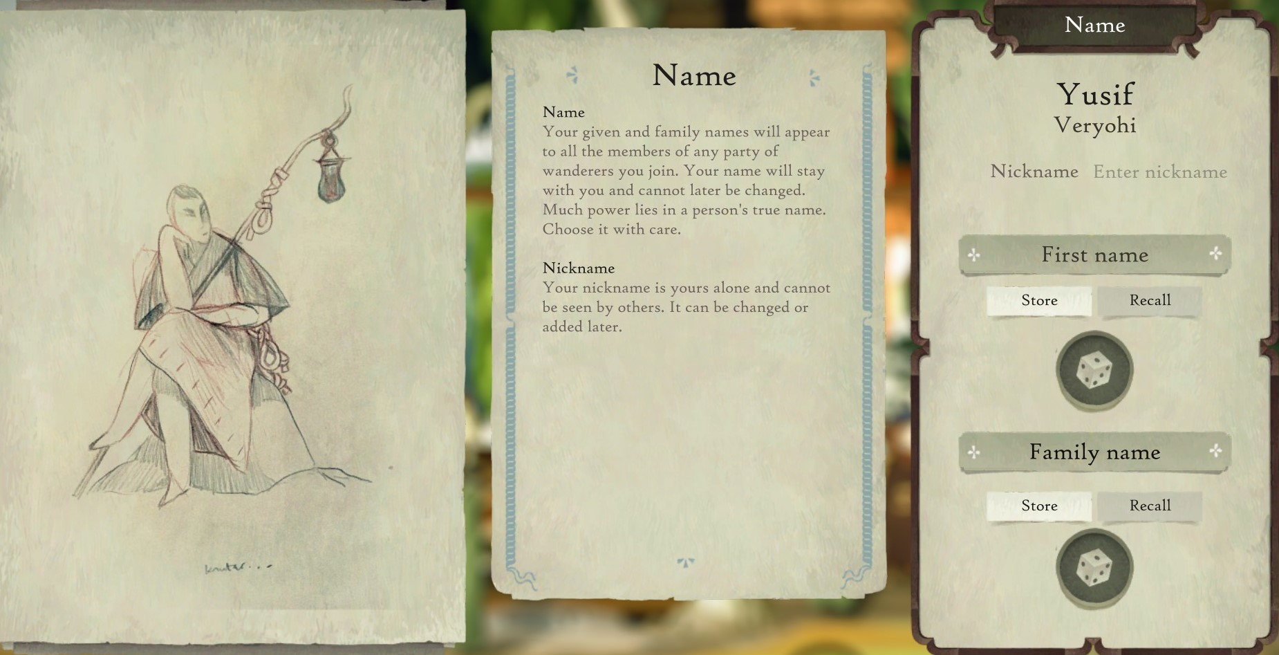 Book of Travels Story Guide + Walkthrough - Overview - Creating a Character - CF68BC7