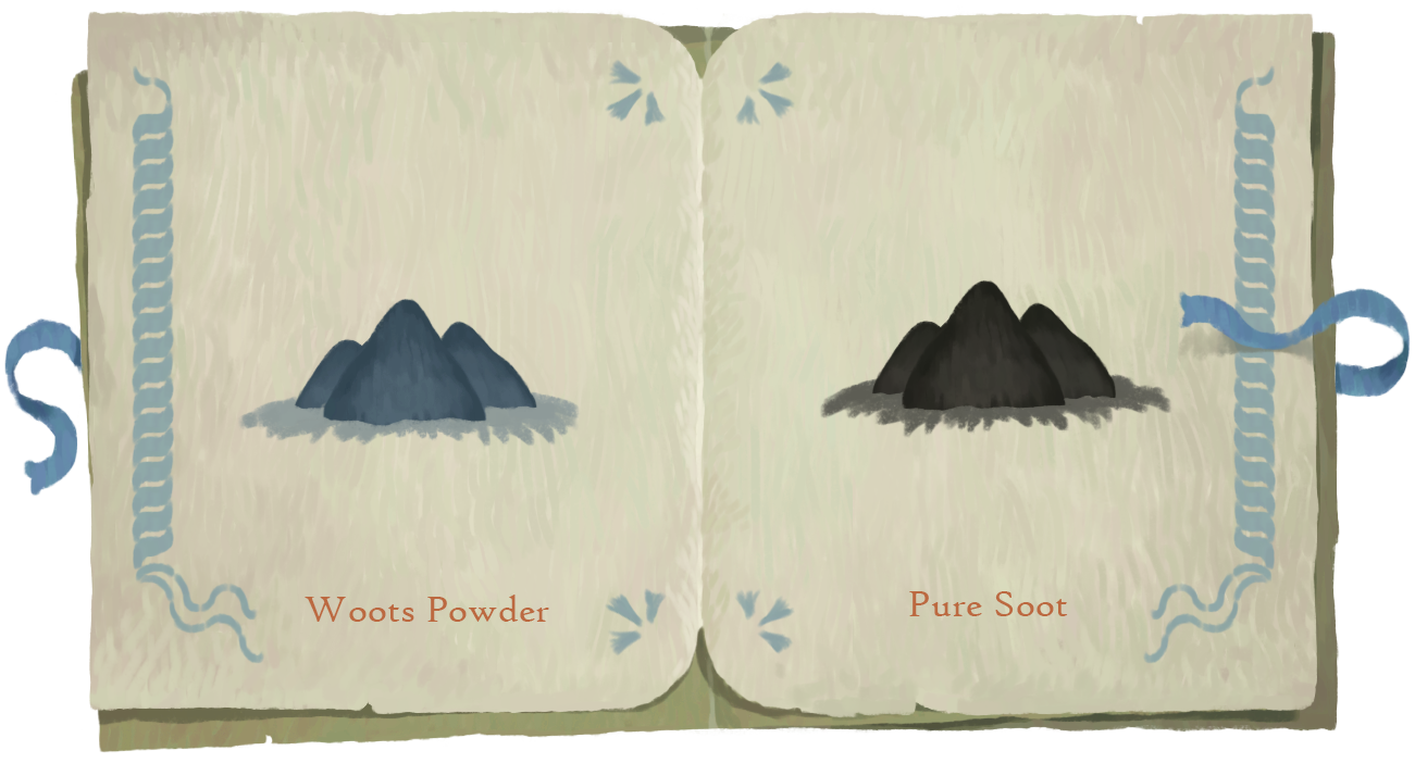 Book of Travels Story Guide + Walkthrough - Overview - Reagents for spells - 8F0070A