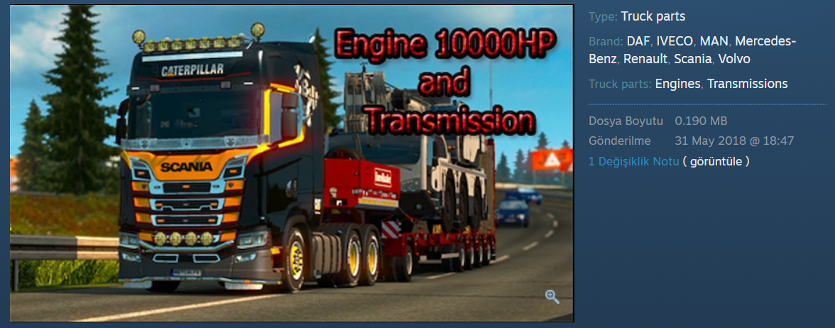 Euro Truck Simulator 2 How to Reach 350Km in Euro truck Simulator2 Tips - What we need to do in the Steam workshop. - B8BC7DC