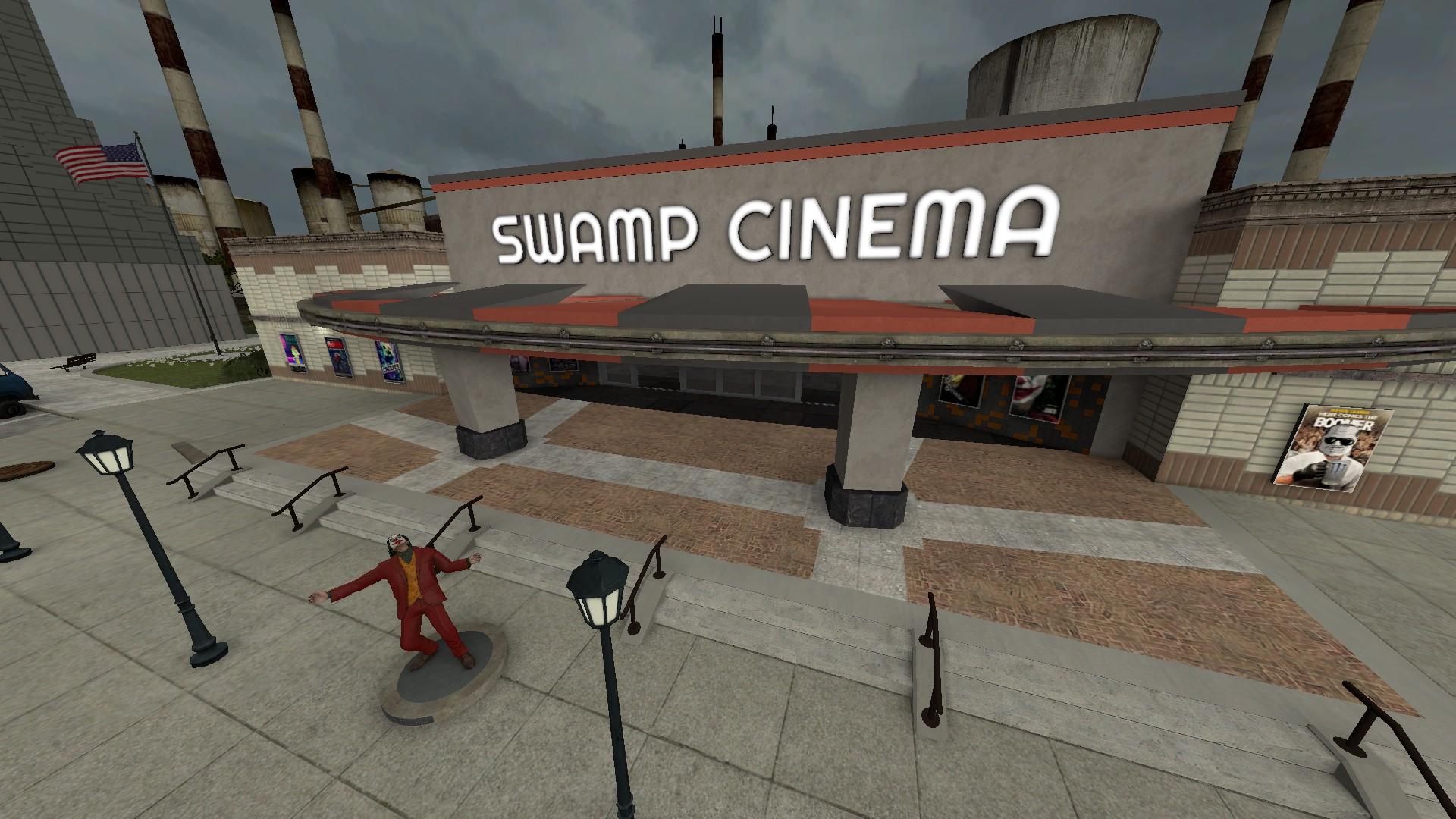 Garry's Mod Server Swamp Cinema + Map + Locations - Overview - Overview of Server: - 08DE1EA