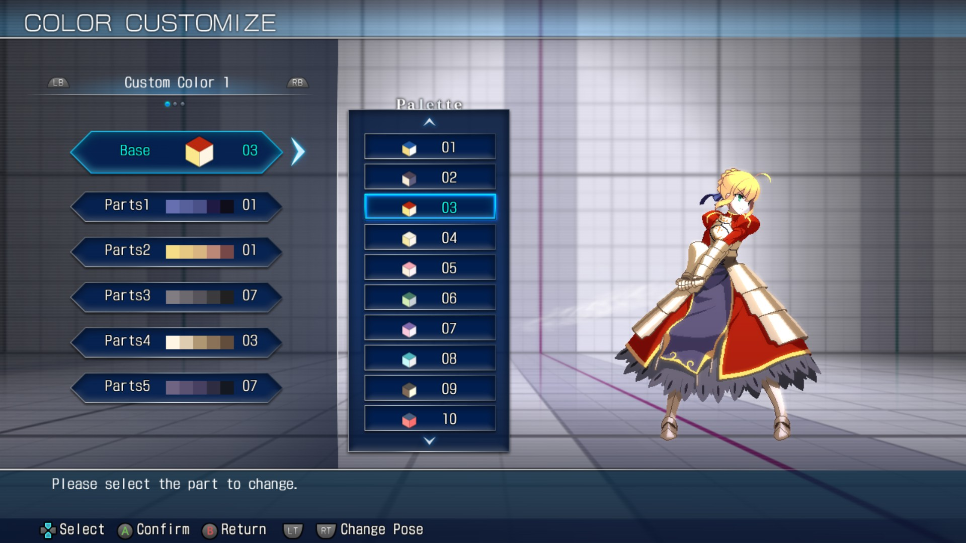 MELTY BLOOD: TYPE LUMINA WIP - All Achievements Guide & Walkthrough - Customize - A10FB74
