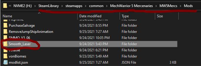 MechWarrior 5: Mercenaries List of Mods in Game + Links Download - Example: Installing from NexusMods - 86CDC29