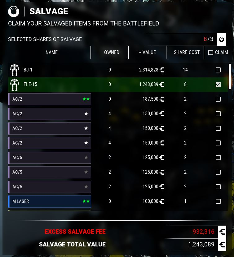 MechWarrior 5: Mercenaries List of Mods in Game + Links Download - [Gameplay Mods 2] - 100374A