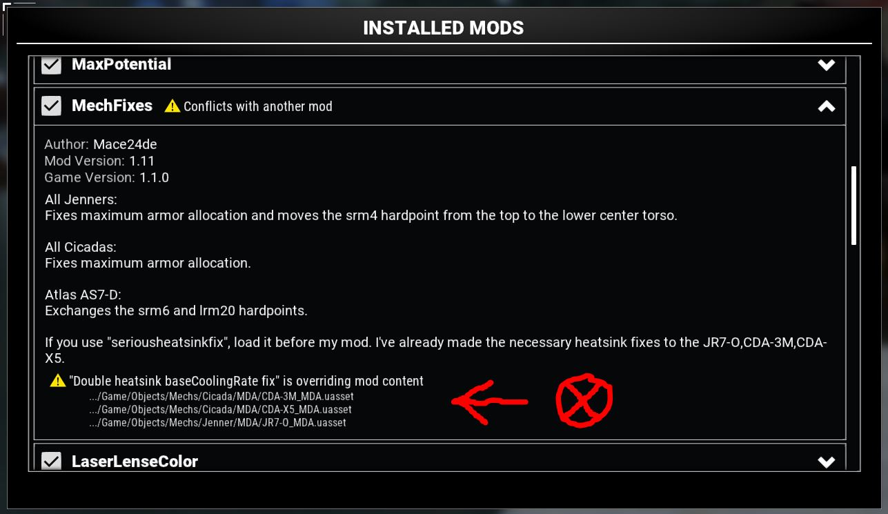 MechWarrior 5: Mercenaries List of Mods in Game + Links Download - Information About Load Order - D0A21D9
