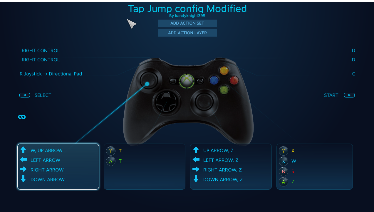 Nickelodeon All-Star Brawl Steam Config for Tap Jump and Tilt Stick Guide - Installing the new config - DD83455