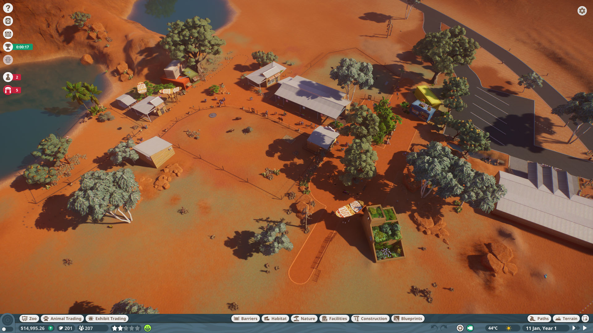 Planet Zoo How to Get All Statue rewards in Time Scenarios - Outback Comeback (Tanami Roadside Zoo) - 65935B8