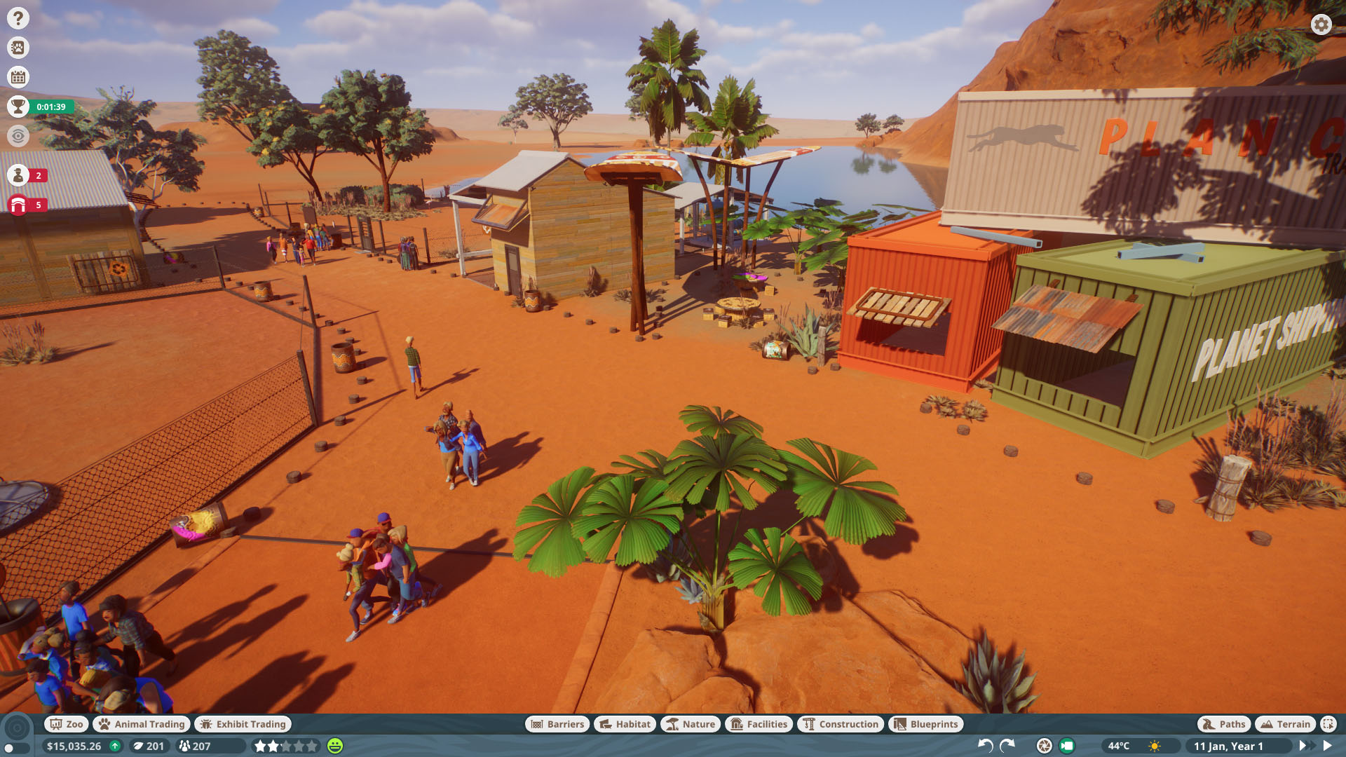 Planet Zoo How to Get All Statue rewards in Time Scenarios - Outback Comeback (Tanami Roadside Zoo) - E56EA2A