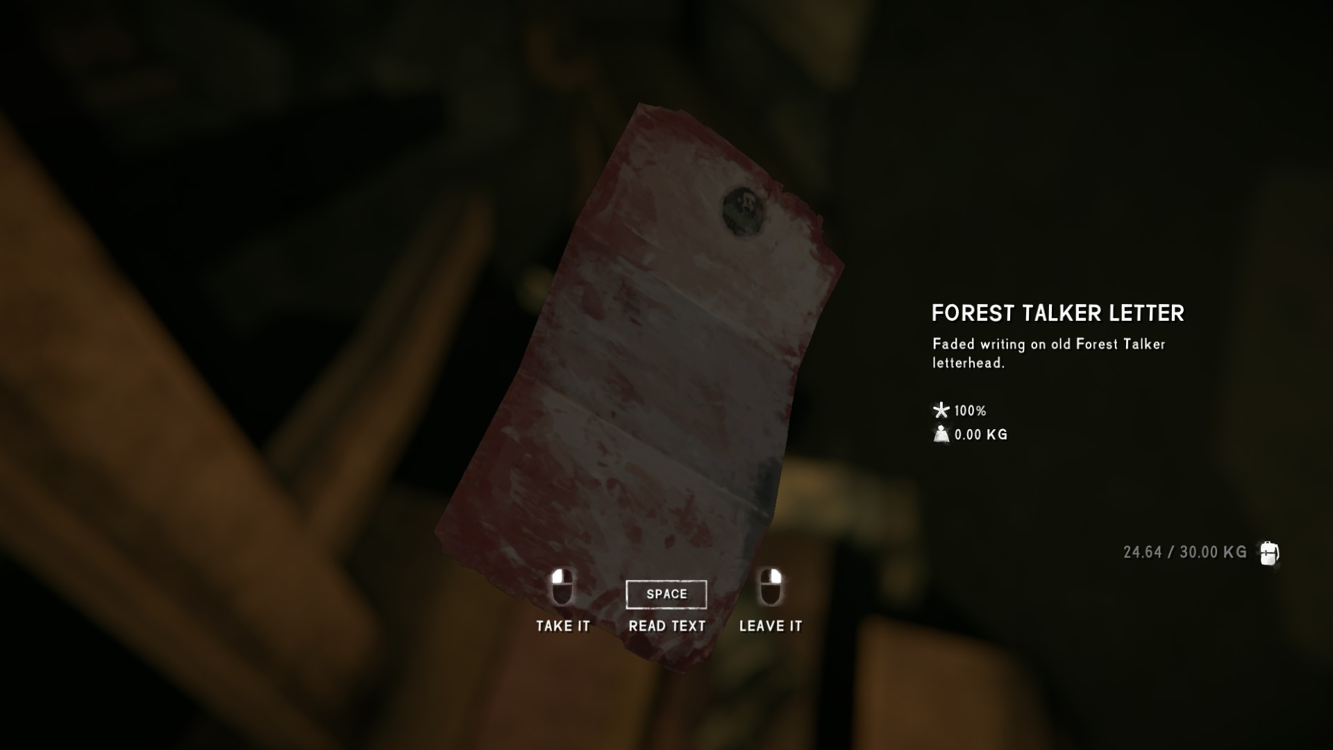 The Long Dark All Collectible Items & Achievements - Episode 4 - Forest Talker Cache - 42165E5