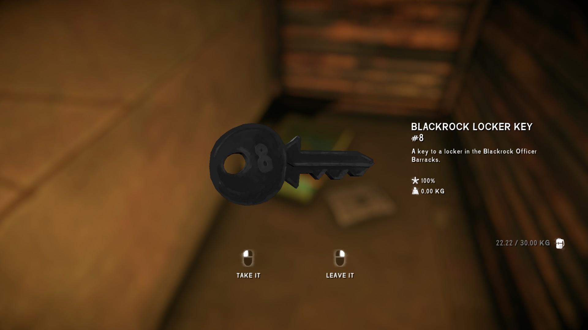 The Long Dark All Collectible Items & Achievements - Episode 4 - Locker Keys - 4D2418A