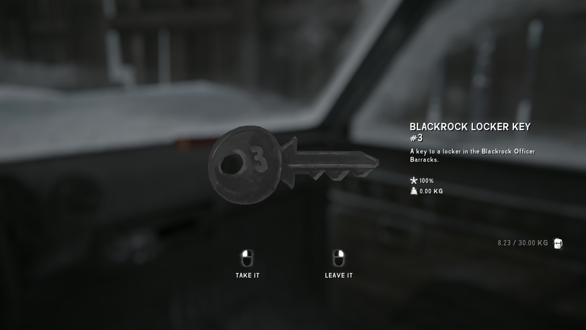 The Long Dark All Collectible Items & Achievements - Episode 4 - Locker Keys - 548C682