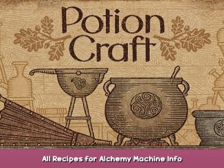 Potion Craft All Recipes for Alchemy Machine Info 2 - steamsplay.com