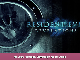 Resident Evil Revelations All Loot Items in Campaign Mode Guide 1 - steamsplay.com